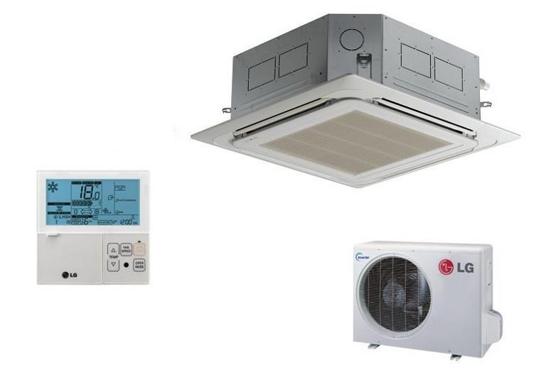 LG CT18.NR2/UU18W.UE2 4.7kw 18,000btu Standard Inverter Ceiling Cassette System