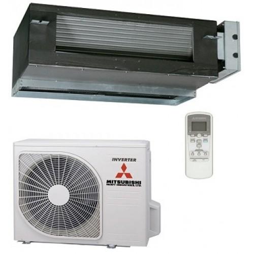 Mitsubishi Heavy Industries SRR25ZJ-S/SRC25ZJX-S 2.5KW 9,000btu Hyper Inverter Compact Ducted System