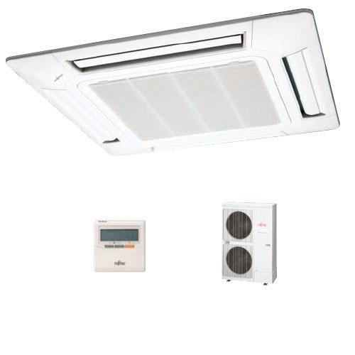 Fujitsu AUYG54LRLA/AOYG54LETL 14KW 54,000btu Ceiling Cassette Inverter System