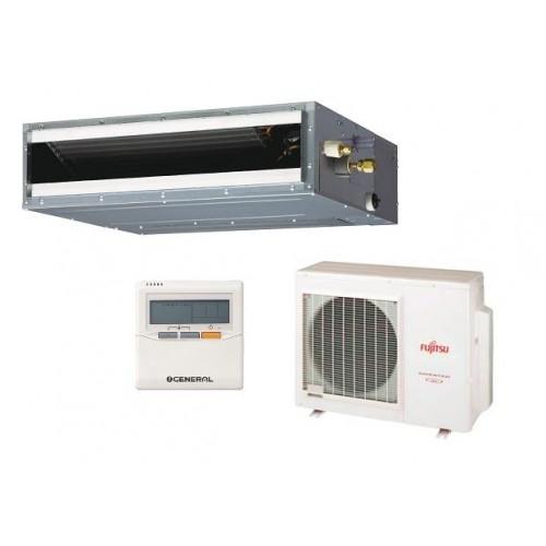 Fujitsu ARYG18LLTB/AOYG18LALL 5KW 18,000btu Slim Duct Inverter System