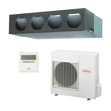 Fujitsu ARYG30LMLE/AOYG30LETL 8KW 30,000btu Duct Inverter System