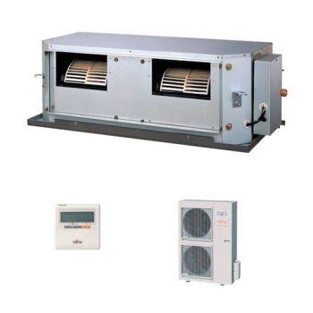 Fujitsu ARYG54LHTA/AOYG54LETL 14KW 54,000btu High Static Duct Inverter System