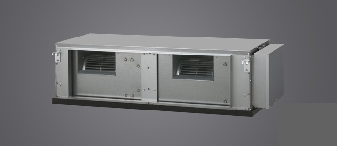 Fujitsu ARYC90LHTA/AOYA90LALT (3 phase) 25KW 90,000btu High Static Duct Inverter System